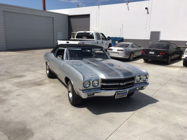 Slater's 3rd restoration, a 1970 Chevy Chevelle SS