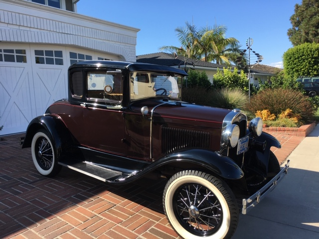 Donated 1932 Model A