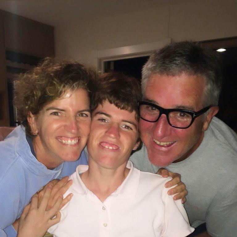 Liz, Hannah & Ed Slater